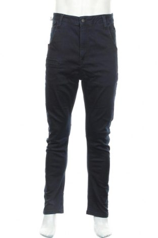 Мъжки дънки Cipo & Baxx, Размер S, Цвят Син, 98% памук, 2% еластан, Цена 34,50лв.