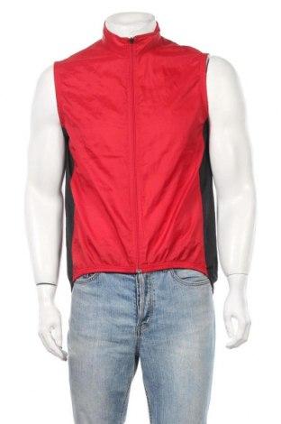 Ανδρικό γιλέκο Adidas, Μέγεθος M, Χρώμα Κόκκινο, Πολυεστέρας, Τιμή 8,87€