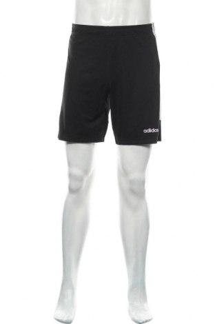 Ανδρικό κοντό παντελόνι Adidas, Μέγεθος S, Χρώμα Μαύρο, Πολυεστέρας, Τιμή 14,38€