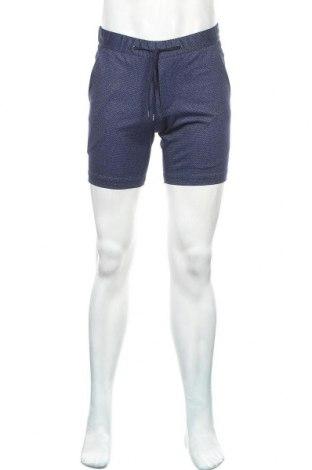 Ανδρικό κοντό παντελόνι Guido Maria Kretschmer, Μέγεθος S, Χρώμα Μπλέ, 50% πολυεστέρας, 50% βισκόζη, Τιμή 18,56€