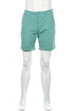 Ανδρικό κοντό παντελόνι Kaporal, Μέγεθος L, Χρώμα Πράσινο, 97% βαμβάκι, 3% ελαστάνη, Τιμή 33,80€