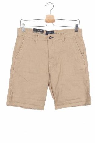 Мъжки къс панталон Springfield, Размер S, Цвят Бежов, Памук, Цена 18,86лв.