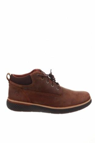 Ανδρικά παπούτσια Timberland, Μέγεθος 49, Χρώμα Καφέ, Γνήσιο δέρμα, κλωστοϋφαντουργικά προϊόντα, Τιμή 51,29€