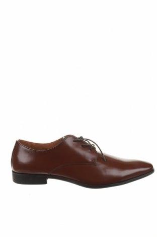 Мъжки обувки Zign, Размер 49, Цвят Кафяв, Естествена кожа, Цена 45,58лв.