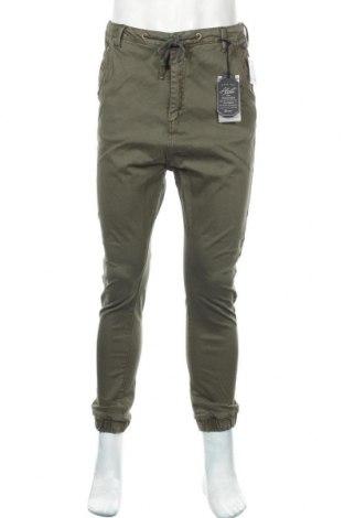 Ανδρικό παντελόνι Alcott, Μέγεθος M, Χρώμα Πράσινο, 98% βαμβάκι, 2% ελαστάνη, Τιμή 22,81€
