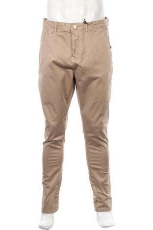Ανδρικό παντελόνι Alcott, Μέγεθος L, Χρώμα Καφέ, 97% βαμβάκι, 3% ελαστάνη, Τιμή 12,06€