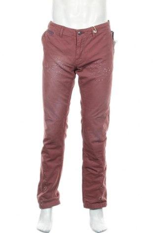 Ανδρικό παντελόνι Alcott, Μέγεθος L, Χρώμα Κόκκινο, Βαμβάκι, Τιμή 15,21€