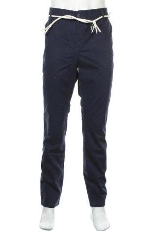 Pantaloni de bărbați Eleven Paris, Mărime XL, Culoare Albastru, Bumbac, Preț 69,33 Lei