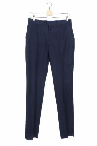 Ανδρικό παντελόνι Pascal Morabito, Μέγεθος M, Χρώμα Μπλέ, 65% πολυεστέρας, 35% βισκόζη, Τιμή 33,02€