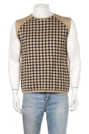 Ανδρικό πουλόβερ Hallhuber, Μέγεθος L, Χρώμα  Μπέζ, 50% βαμβάκι, 50%ακρυλικό, Τιμή 6,14€
