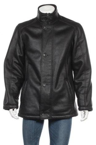 Мъжко палто Kingfield, Размер L, Цвят Черен, 95% полиестер, 5% полиуретан, Цена 10,60лв.
