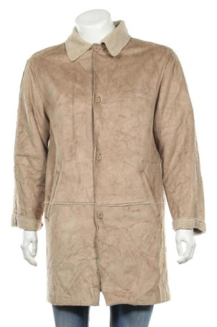 Ανδρικά παλτό Tantum O.N., Μέγεθος M, Χρώμα  Μπέζ, Πολυεστέρας, Τιμή 11,82€