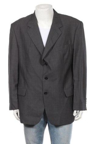 Мъжко сако, Размер XL, Цвят Сив, 100% вълна, Цена 8,19лв.