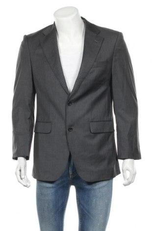 Мъжко сако Baumler, Размер M, Цвят Сив, Вълна, Цена 36,58лв.