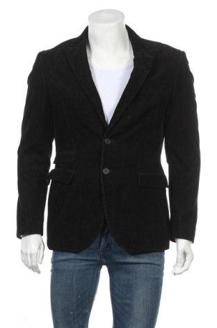 Мъжко сако Liv, Размер M, Цвят Черен, 100% памук, Цена 15,23лв.