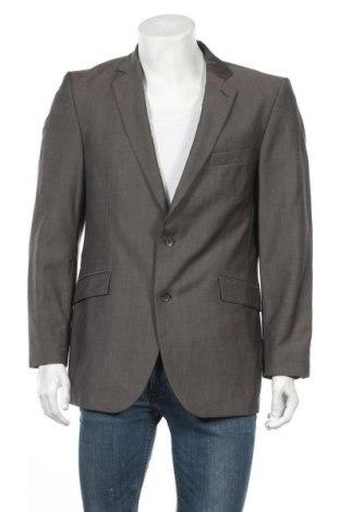 Мъжко сако Strellson, Размер L, Цвят Сив, Вълна, Цена 11,62лв.