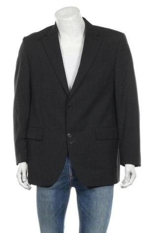 Ανδρικό σακάκι Yorn, Μέγεθος L, Χρώμα Μαύρο, 70% μαλλί, 30% πολυεστέρας, Τιμή 8,24€
