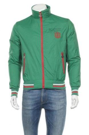 Ανδρικό μπουφάν Berto Lucci, Μέγεθος S, Χρώμα Πράσινο, Πολυεστέρας, Τιμή 11,60€