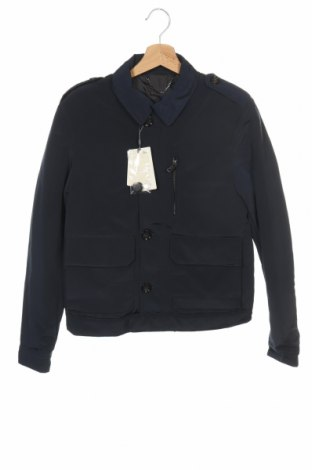 Ανδρικό μπουφάν Mango, Μέγεθος XS, Χρώμα Μπλέ, Πολυεστέρας, Τιμή 20,36€