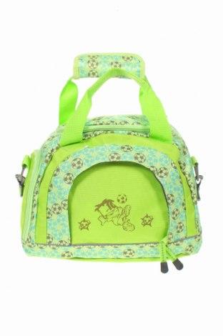 Пътна чанта, Цвят Зелен, Текстил, Цена 22,68лв.