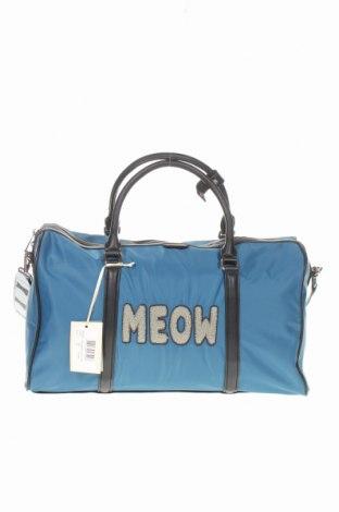 Пътна чанта Paul & Joe Sister, Цвят Син, Текстил, еко кожа, Цена 73,63лв.