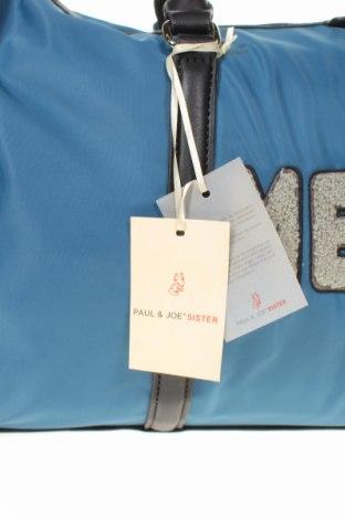 Пътна чанта Paul & Joe Sister, Цвят Син, Текстил, еко кожа, Цена 75,62лв.