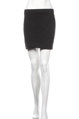 Пола H&M, Размер M, Цвят Черен, 98% полиестер, 2% еластан, Цена 5,67лв.