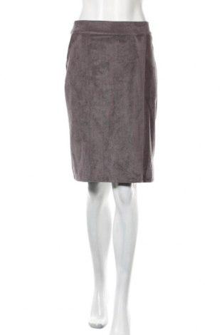 Φούστα Miss Etam, Μέγεθος L, Χρώμα Γκρί, 92% πολυεστέρας, 8% ελαστάνη, Τιμή 6,42€