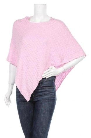 Пончо Hampton Republic, Размер M, Цвят Розов, 60% памук, 20% вискоза, 20% полиамид, Цена 13,86лв.