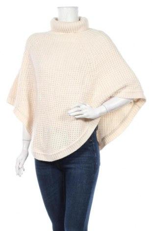 Πόντσο Soya Concept, Μέγεθος M, Χρώμα Εκρού, 70%ακρυλικό, 30% μαλλί, Τιμή 13,64€