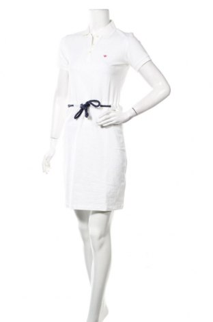Рокля, Размер M, Цвят Бял, 92% памук, 8% еластан, Цена 22,00лв.