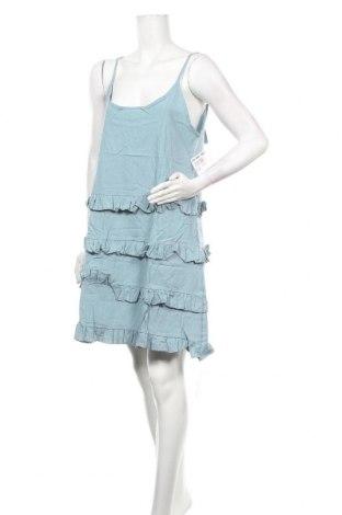 Φόρεμα TINA, Μέγεθος XL, Χρώμα Μπλέ, 65% βαμβάκι, 35% πολυεστέρας, Τιμή 14,23€