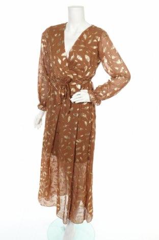 Φόρεμα Alice & Charlotte, Μέγεθος S, Χρώμα Καφέ, Πολυεστέρας, Τιμή 8,14€