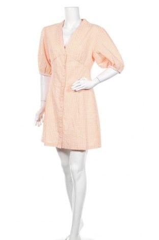Рокля Edited, Размер L, Цвят Оранжев, 55% памук, 45% полиестер, Цена 17,25лв.
