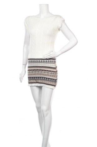Φόρεμα Floyd By Smith, Μέγεθος S, Χρώμα Λευκό, 75%ακρυλικό, 10% βισκόζη, 10% μαλλί, 5% μαλλί από αλπακά, Τιμή 16,89€