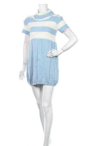Φόρεμα Floyd By Smith, Μέγεθος S, Χρώμα Μπλέ, 76%ακρυλικό, 12% μαλλί από αλπακά, 12% μαλλί, Τιμή 15,59€