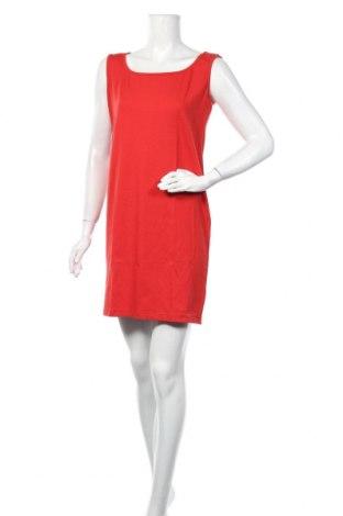 Рокля Foggy, Размер L, Цвят Червен, 75% памук, 25% полиестер, Цена 22,42лв.