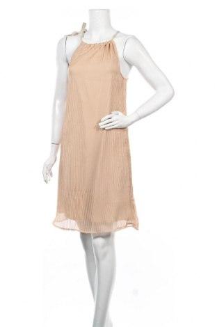 Φόρεμα Foggy, Μέγεθος XS, Χρώμα  Μπέζ, 70% βισκόζη, 30% πολυεστέρας, Τιμή 12,16€