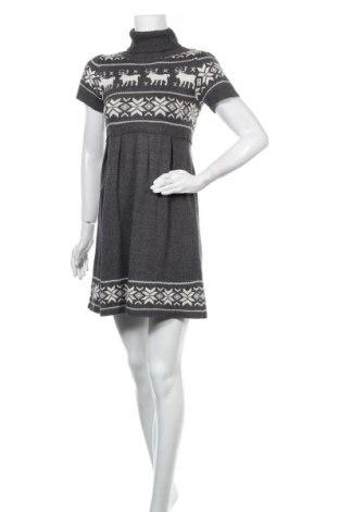 Φόρεμα Hallhuber, Μέγεθος S, Χρώμα Γκρί, 50% βαμβάκι, 50% πολυακρυλικό, Τιμή 14,09€