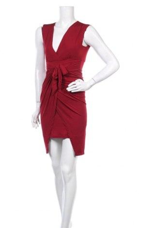 Рокля Iska London, Размер S, Цвят Червен, 95% полиестер, 5% еластан, Цена 19,75лв.