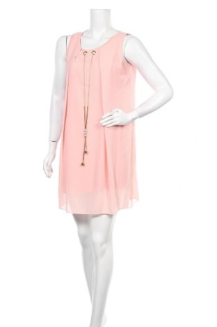 Φόρεμα La Belle Parisienne, Μέγεθος M, Χρώμα Ρόζ , 60% πολυεστέρας, 35% βισκόζη, 5% ελαστάνη, Τιμή 17,32€