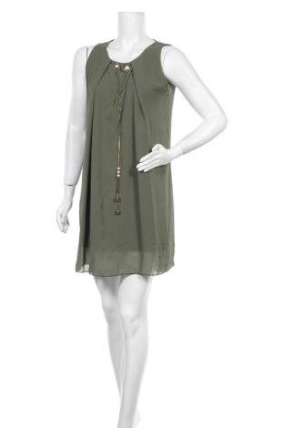 Φόρεμα La Belle Parisienne, Μέγεθος M, Χρώμα Πράσινο, 60% πολυεστέρας, 35% βισκόζη, 5% ελαστάνη, Τιμή 17,32€