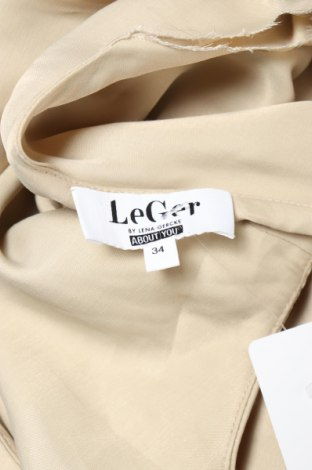 Рокля LeGer By Lena Gercke, Размер XS, Цвят Бежов, Вискоза, Цена 11,16лв.