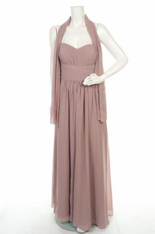 Šaty  Mascara, Velikost XL, Barva Popelavě růžová, Polyester, Cena  465,00Kč