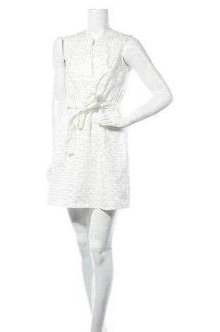 Рокля Max&Co., Размер S, Цвят Бял, 97% памук, 3% еластан, Цена 187,77лв.