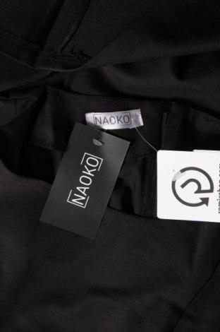 Рокля Naoko, Размер S, Цвят Черен, 60% полиестер, 40% вискоза, Цена 59,25лв.