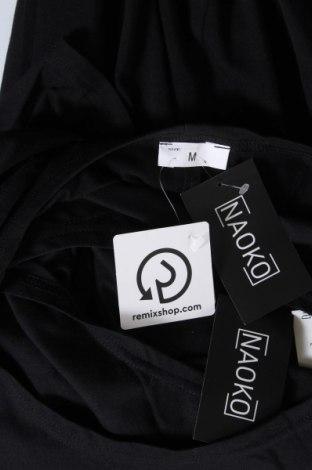 Рокля Naoko, Размер M, Цвят Черен, 75% памук, 25% полиестер, Цена 51,75лв.