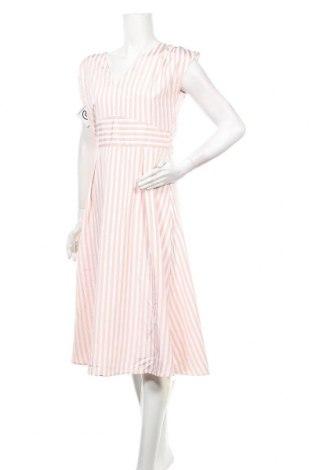 Φόρεμα TINA, Μέγεθος M, Χρώμα Ρόζ , 65% πολυεστέρας, 30% βαμβάκι, 5% ελαστάνη, Τιμή 18,35€