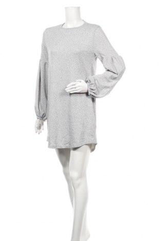 Φόρεμα TINA, Μέγεθος M, Χρώμα Γκρί, 65% πολυεστέρας, 35% βαμβάκι, Τιμή 9,12€