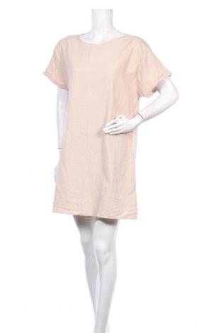 Φόρεμα TINA, Μέγεθος M, Χρώμα  Μπέζ, 65% πολυεστέρας, 30% βαμβάκι, 5% ελαστάνη, Τιμή 12,16€
